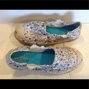 🆕SPERRY TOP SIDER FLORAL ESPADRILLE WOMENS(Sz 7)